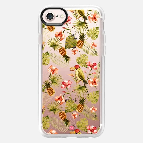 Totally Tropic Clear Case by Wonder Forest - Classic Grip Case