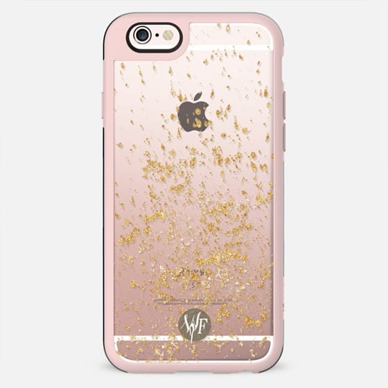 Gold Flakes Case by Wonder Forest