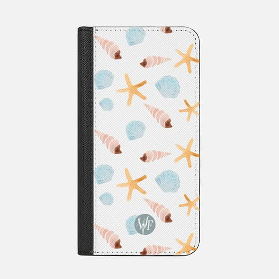 Swept Ashore Clear Case by Wonder Forest