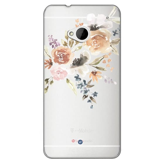 Htc One Cases - Feeling Floral Case by Wonder Forest