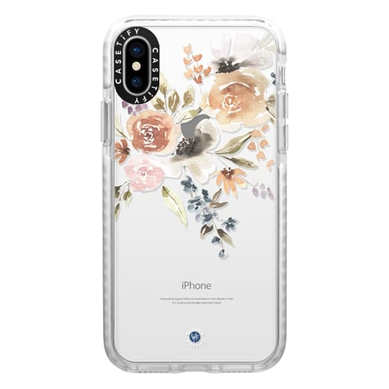 iPhone X Cases - Feeling Floral Case by Wonder Forest