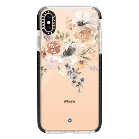 iPhone XS Max Cases - Feeling Floral Case by Wonder Forest