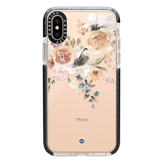 iPhone XS Cases - Feeling Floral Case by Wonder Forest