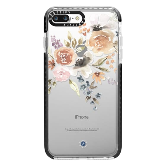 iPhone 7 Plus Cases - Feeling Floral Case by Wonder Forest