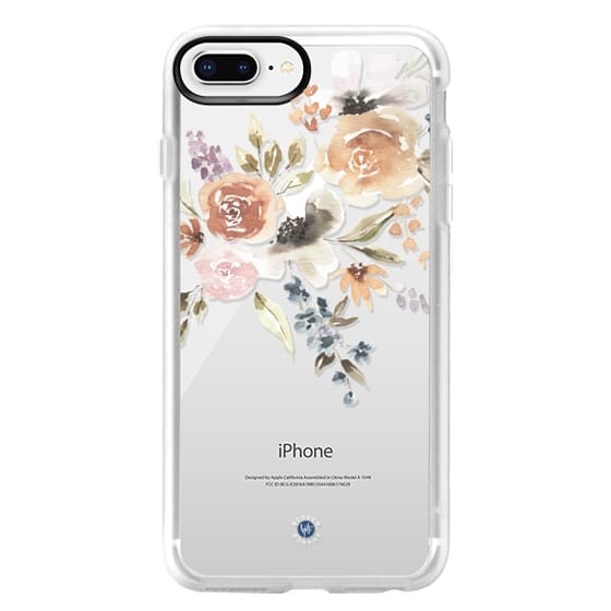iPhone 8 Plus Cases - Feeling Floral Case by Wonder Forest