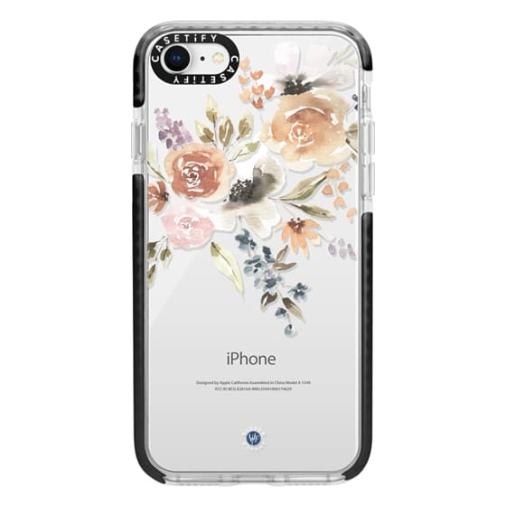 iPhone 8 Cases - Feeling Floral Case by Wonder Forest