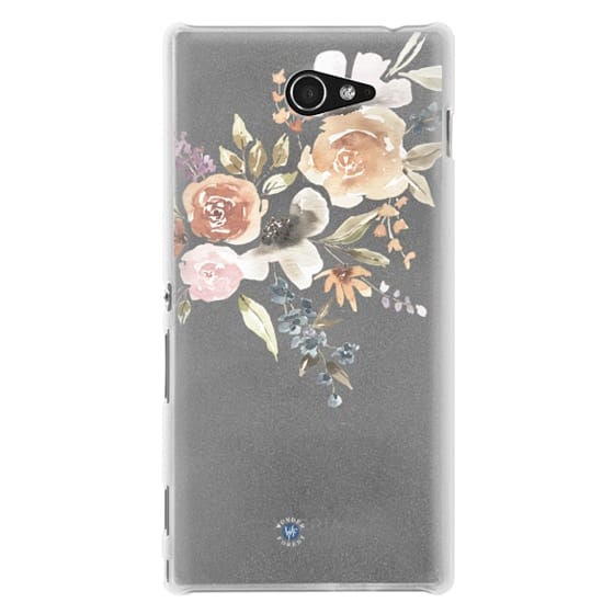 Sony M2 Cases - Feeling Floral Case by Wonder Forest