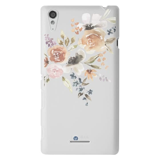 Sony T3 Cases - Feeling Floral Case by Wonder Forest