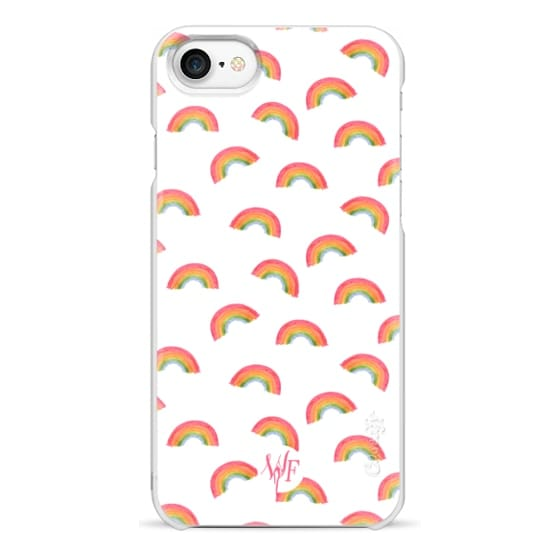 iPhone 7 Cases - Watercolor Rainbows Case  by Wonder Forest