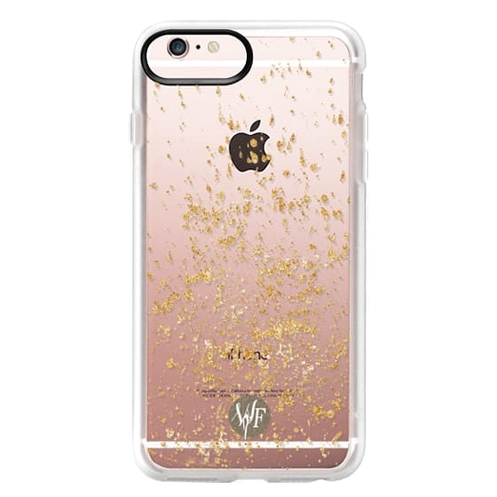 iPhone 6s Plus Cases - Gold Flakes Case by Wonder Forest