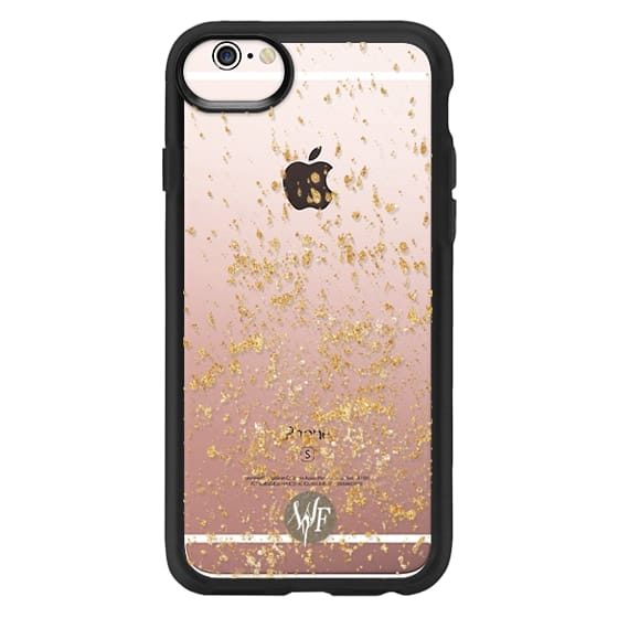 iPhone 6s Cases - Gold Flakes Case by Wonder Forest ... 6b3fcab03