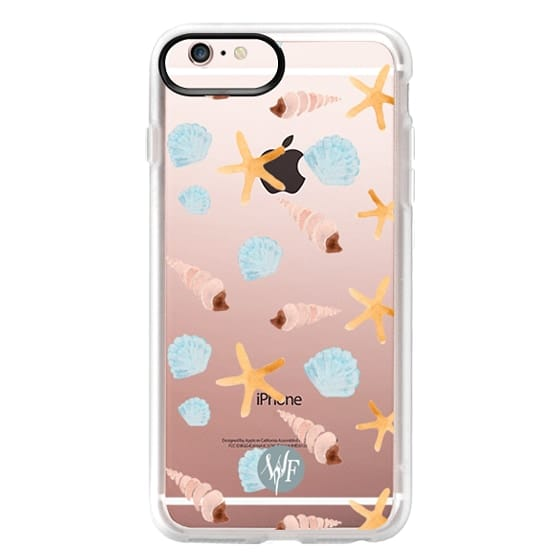iPhone 6s Plus Cases - Swept Ashore Clear Case by Wonder Forest