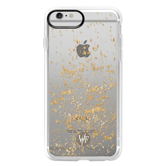 iPhone 6 Plus Cases - Gold Flakes Case by Wonder Forest