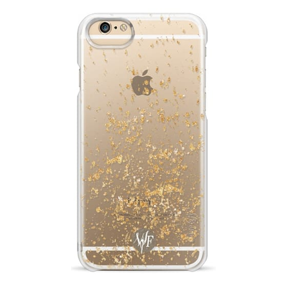 iPhone 6 Cases - Gold Flakes Case by Wonder Forest