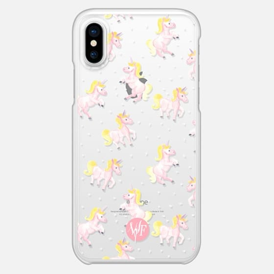 Magical Unicorns Transparent Case by Wonder Forest