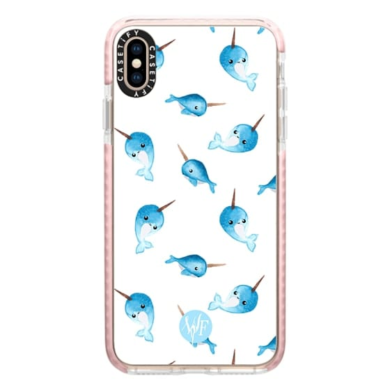 iPhone XS Max Cases - Nutty Narwhals Case by Wonder Forest
