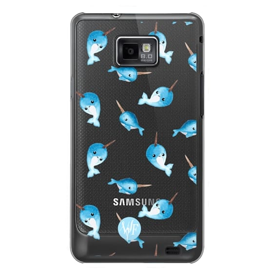 Nutty Narwhals Transparent Case by Wonder Forest