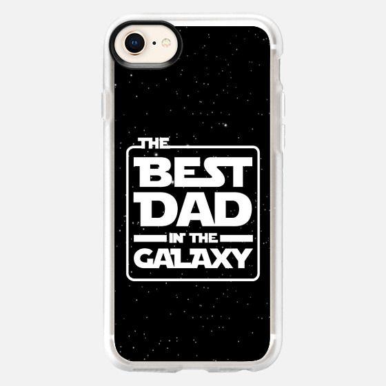 Best Dad Galaxy Star Wars Black Bkgd (iPhone) - Snap Case