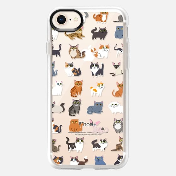 All Cats (clear) - Snap Case