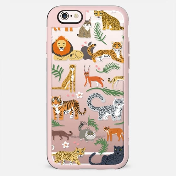 Exotic Cats - CLEAR - New Standard Case