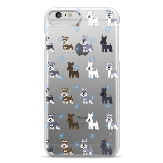 iPhone 6 Plus Cases - Schnauzers - CLEAR
