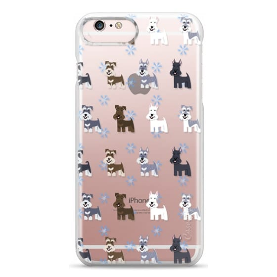 iPhone 6s Plus Cases - Schnauzers - CLEAR