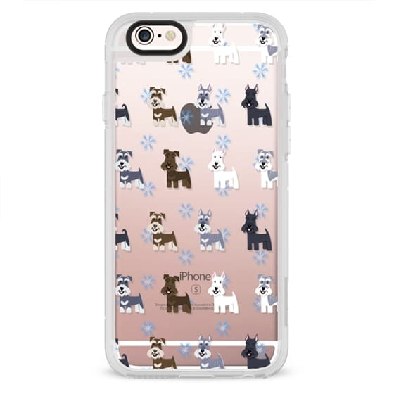iPhone 4 Cases - Schnauzers - CLEAR
