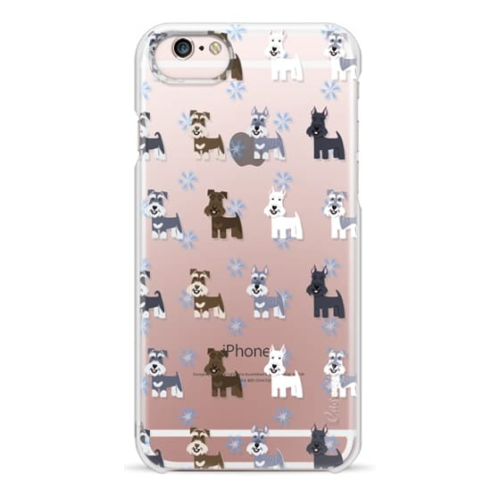 iPhone 6s Cases - Schnauzers - CLEAR