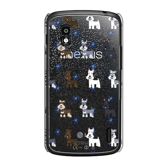 Nexus 4 Cases - Schnauzers - CLEAR