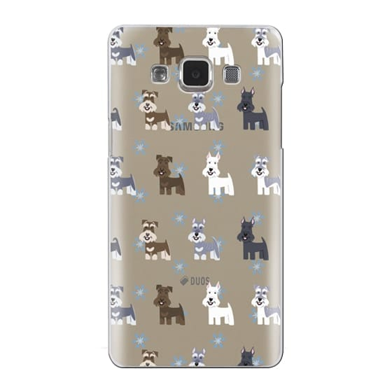 Samsung Galaxy A5 Cases - Schnauzers - CLEAR