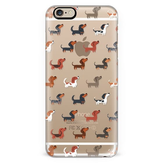 DACHSHUNDS (Clear)