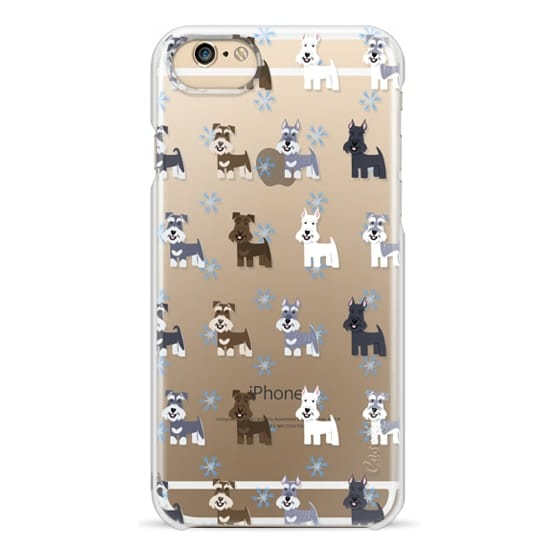 iPhone 6 Cases - Schnauzers - CLEAR