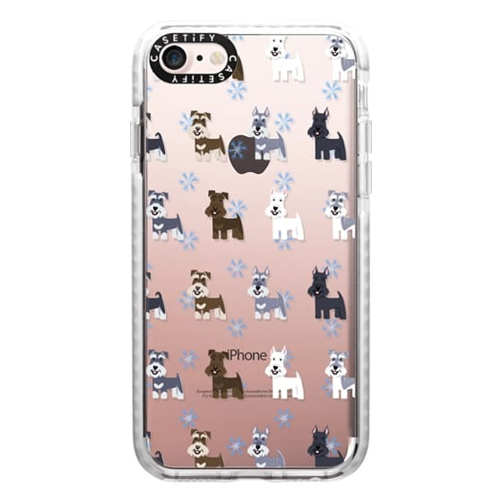 iPhone 7 Cases - Schnauzers - CLEAR
