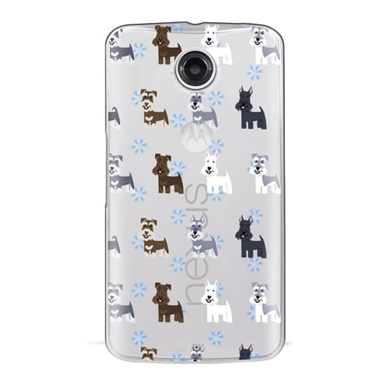 Nexus 6 Cases - Schnauzers - CLEAR