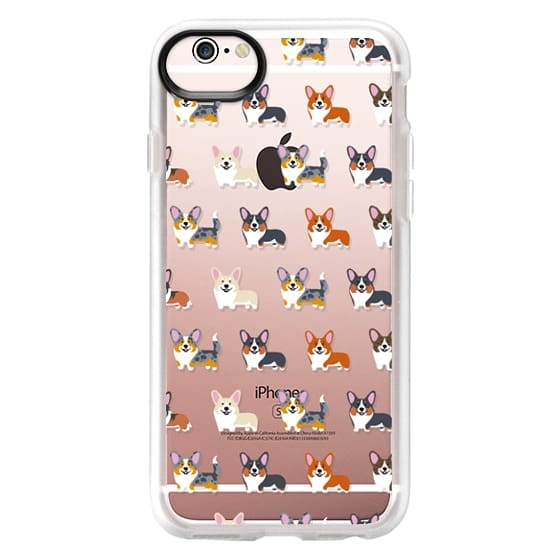 iPhone 6s Cases - Corgis (Clear)