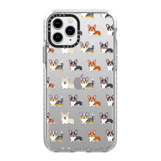 iPhone 11 Pro Cases - Corgis (Clear)