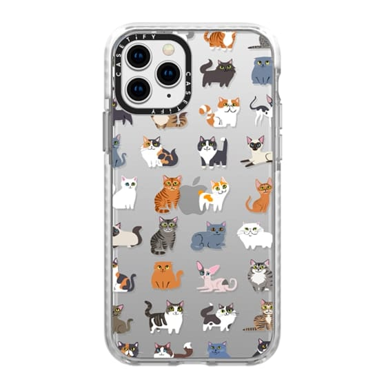 iPhone 11 Pro Cases - All Cats (clear)