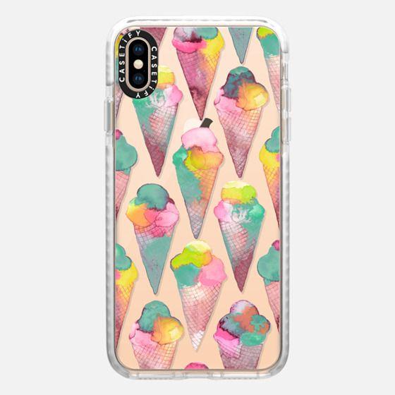 Pink icecream cones