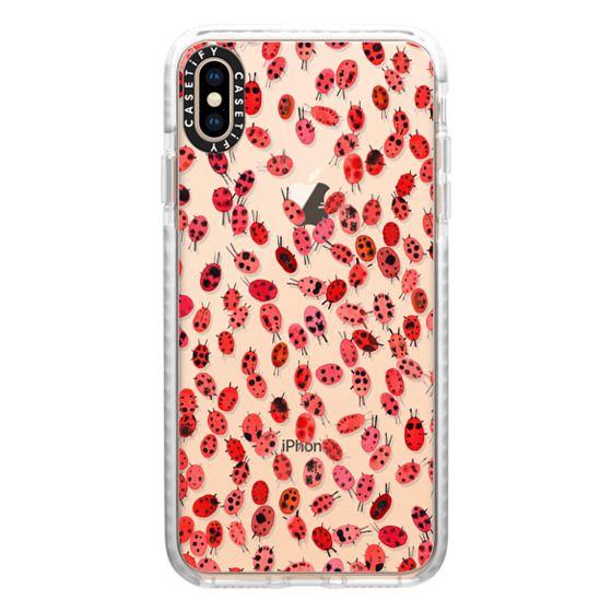 iPhone XS Max Cases - Ladybugs