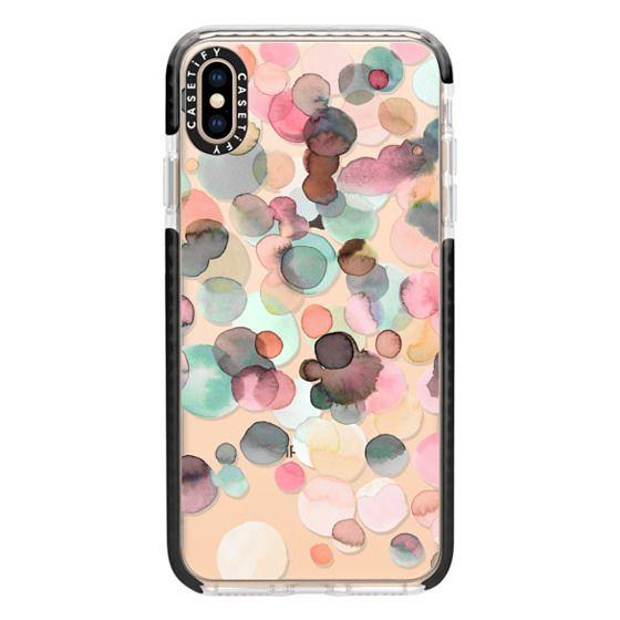 iPhone XS Max Cases - Pastel color drops