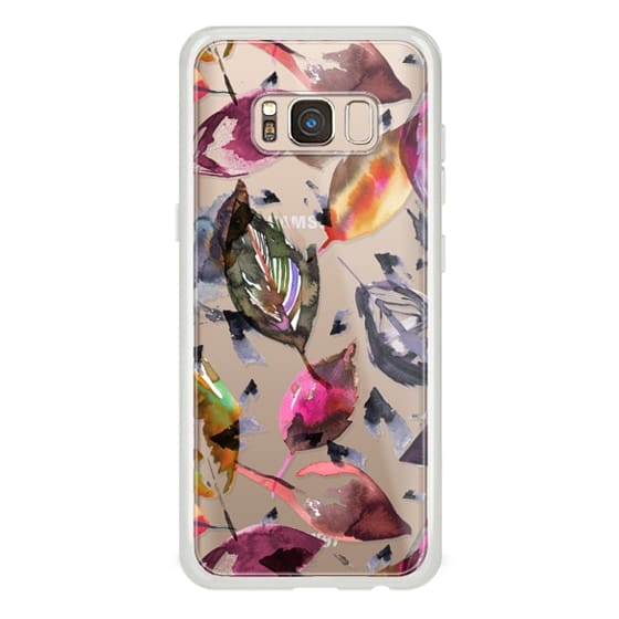 Samsung Galaxy S8 Cases - Colorful autumn leaves