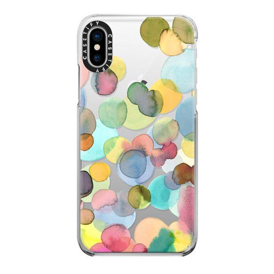 iPhone X Cases - Color drops