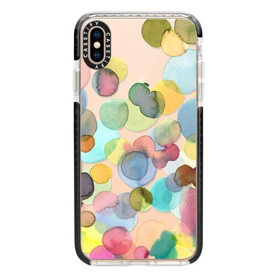 iPhone XS Max Cases - Color drops
