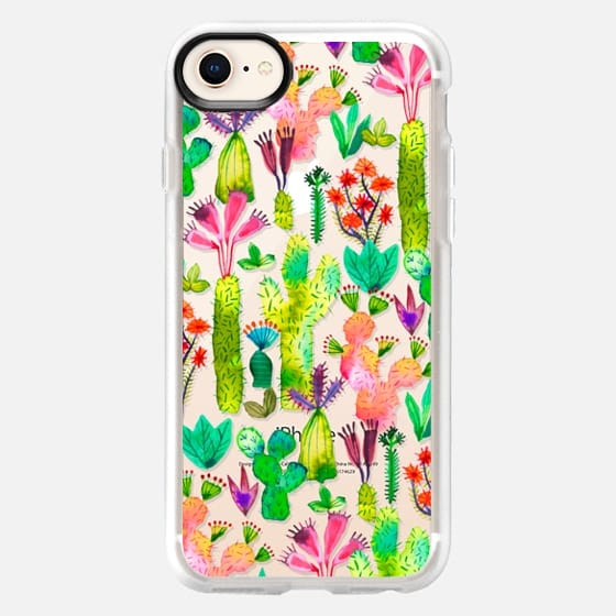 Cacti garden - Snap Case