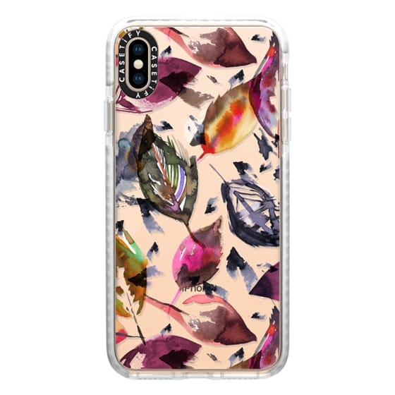 iPhone XS Max Cases - Colorful autumn leaves