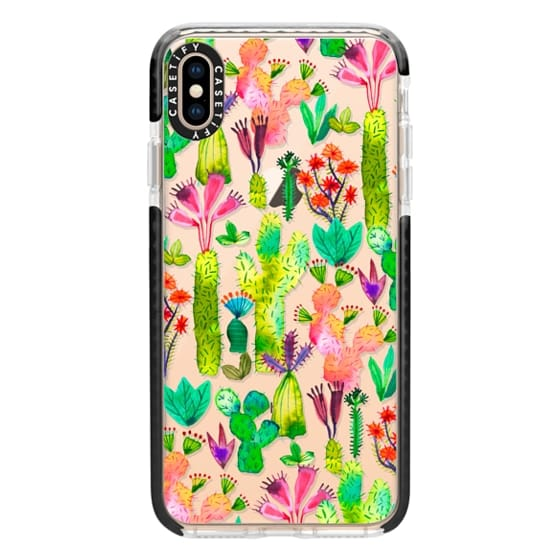 iPhone XS Max Cases - Cacti garden