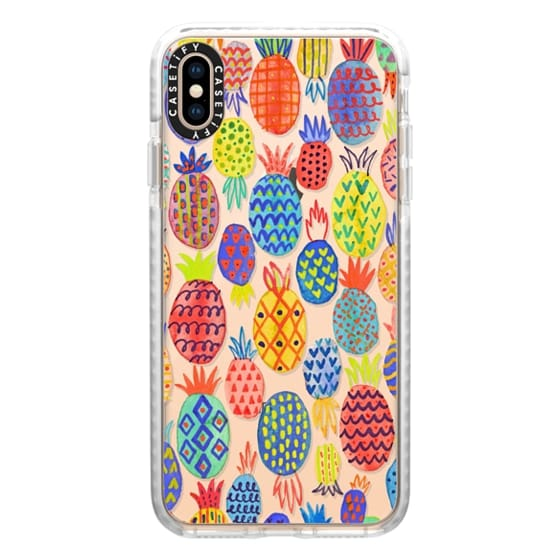 iPhone XS Max Cases - Happy pineapples