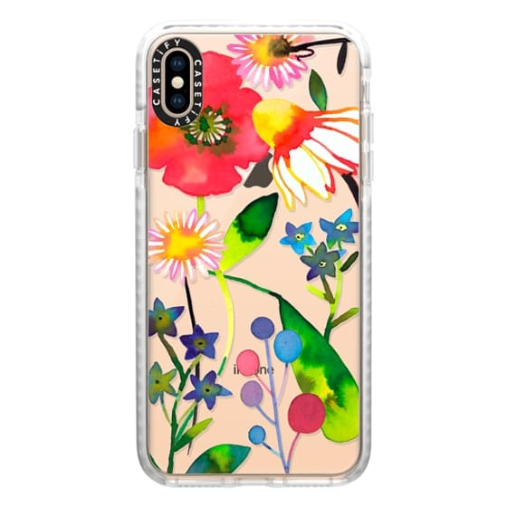 iPhone XS Max Cases - Spring flowers