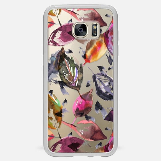 Colorful autumn leaves - Classic Snap Case