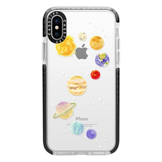 iPhone X Cases - Solar System